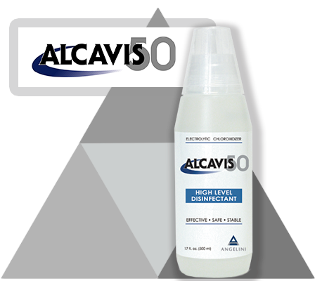 alcavis50 high level surface disinfectant